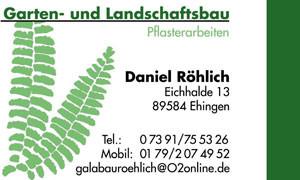 Röhlich-Gartengestaltung